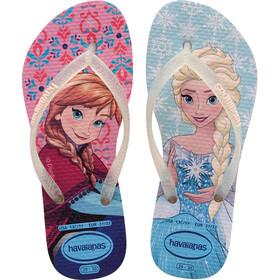 havaianas Slim Frozen Sandały Dzieci kolorowy